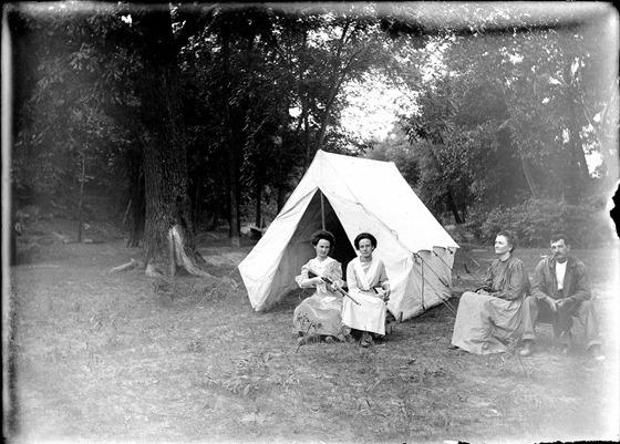 Camping at Twin Springs